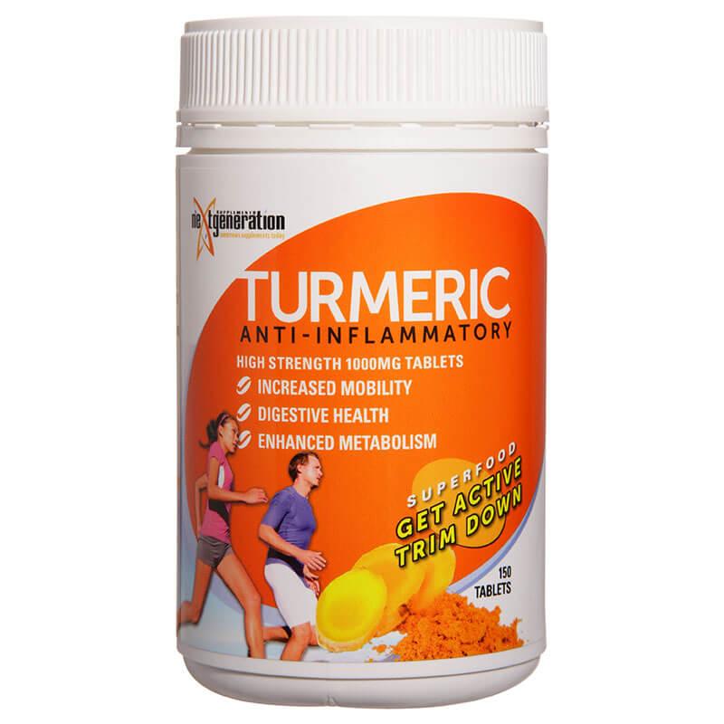 Turmeric 1000mg 150 Tablets
